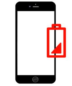 Bytte batteri på iPhone 6