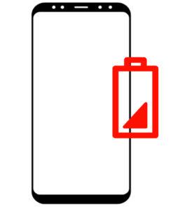 Bytte batteri på Samsung s8