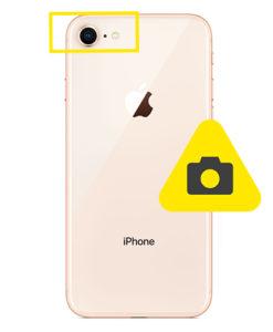 iPhone 8 bak kamera reparasjon