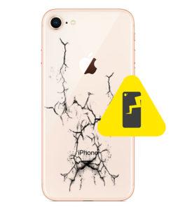 iPhone 8 bakglass reparasjon