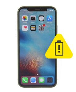 iPhone 10 batteri skifte