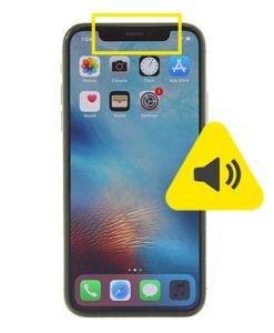 iPhone 10 øre høyttaler reparasjon