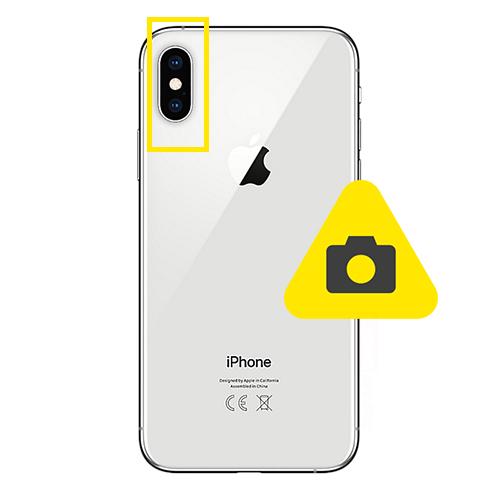 iPhone 10 bak kamera reparasjon