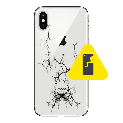 iPhone 10 bakglass reparasjon