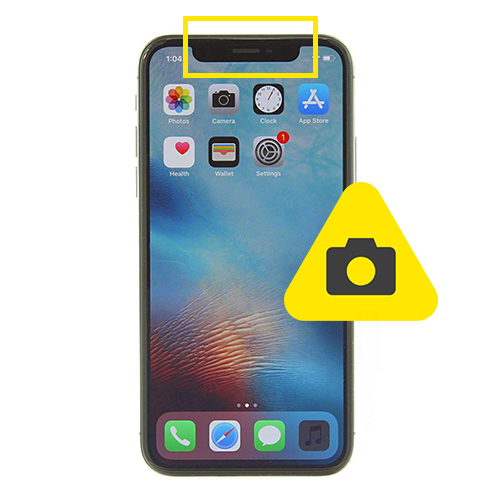 iPhone 10 front kamera reparasjon