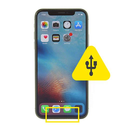 iPhone 10 usb ladeport reparasjon