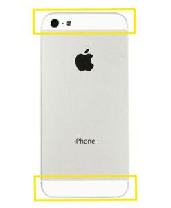 iPhone 5 bakglass reparasjon
