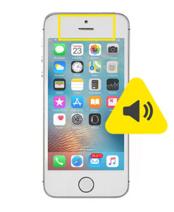 iPhone 5S øre høyttaler reparasjon