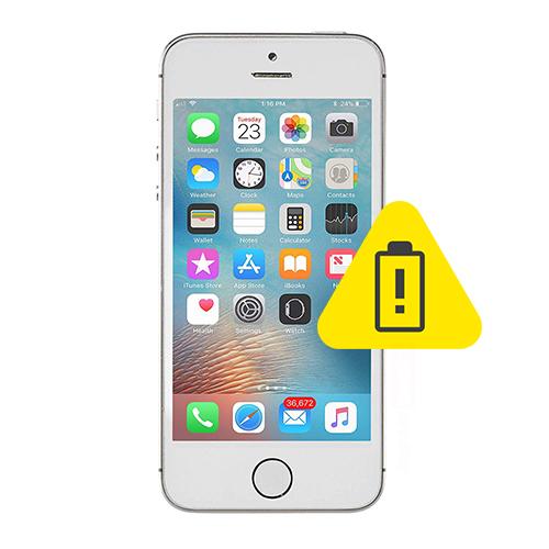 iPhone 5S batteri skifte