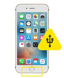 iPhone 6S usb ladeport reparasjon