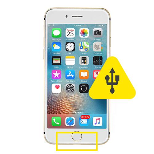 iPhone 6 ladeport bytte reparasjon Rimelig priser og rask