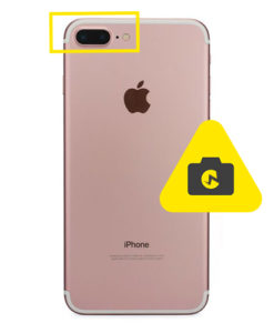 iPhone 7 plus kameraglass reparasjon