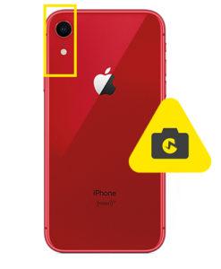 iPhone XR kameraglass reparasjon