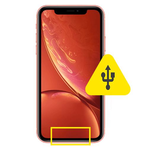 iPhone 8 Plus usb ladeport reparasjon Drop in og innsending