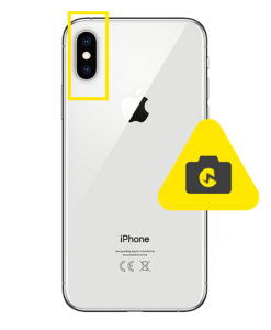 iPhone XS kameraglass reparasjon