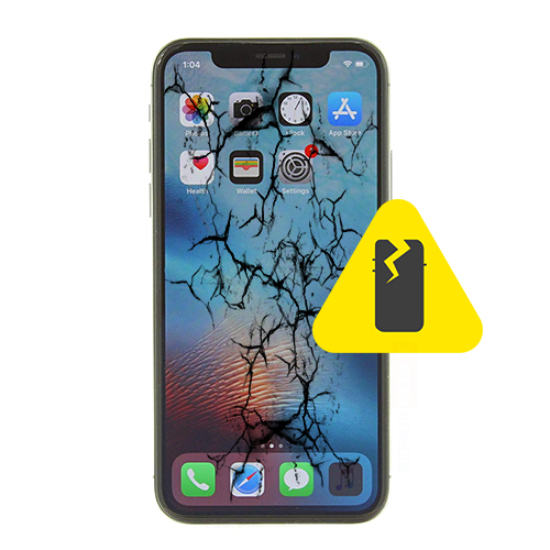 Skjermbytte iPhone Xs Max | Deler og tilbehør på nett