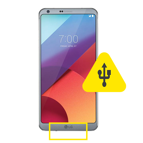 Motorola Moto G6 Plus usb ladeport reparasjon Drop in og
