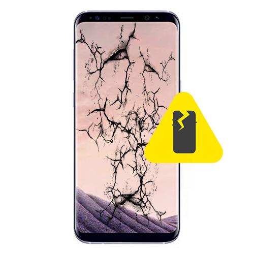 Samsung Galaxy S8 bakglass reparasjon Drop in og innsending